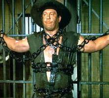 Alex Karras as Mongo in Blazing Saddles